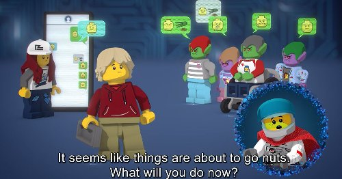 Lego's new interactive experience teaches kids online empathy