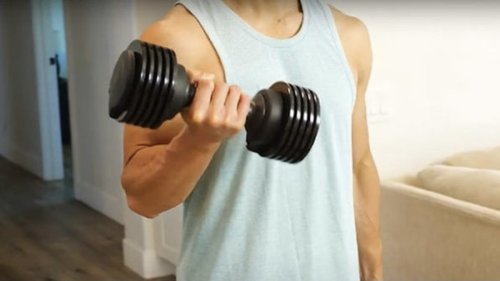 Save 35% on a 2-year fitness app subscription and adjustable dumbbell set