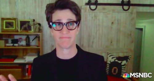 Rachel Maddow begs viewers to be safe in powerful speech about her wife's COVID-19 ordeal