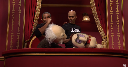 Want to see Keegan-Michael Key beat the crap out of a Muppet? 'SNL' got you.