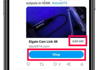 Twitter Is Testing An Ecommerce Card With A Shop Button