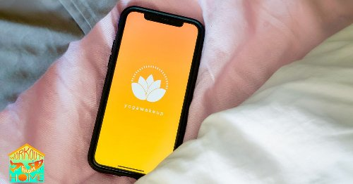 With the Yoga Wake Up app, you'll never need to hit 'snooze' again