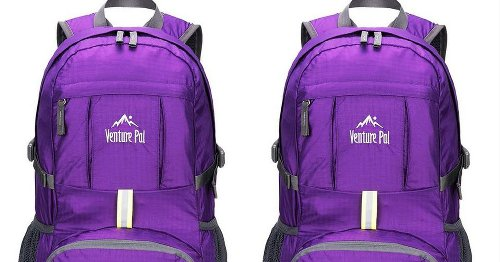 Get a lightweight hiking backpack for $16