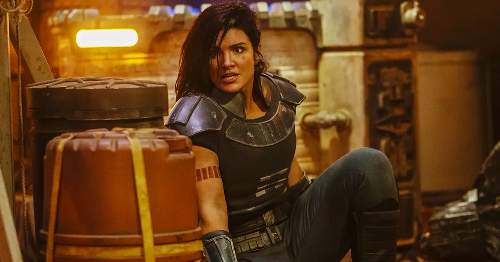 'The Mandalorian' has reportedly dropped Gina Carano after her 'abhorrent' social media posts