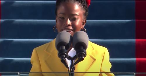 Watch poet Amanda Gorman's powerful reading at Joe Biden's inauguration