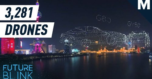 Hyundai's Genesis broke the Guinness World Record for most drones flown at once