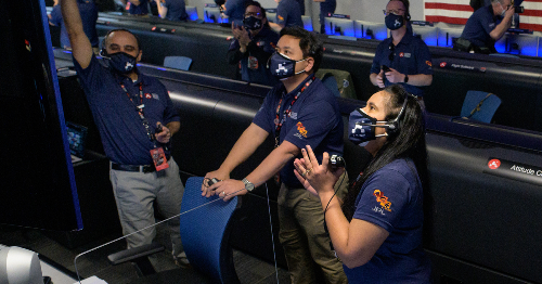 Inside Perseverance mission control: A surreal experience that brought sci-fi to life