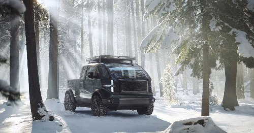 Canoo unveils electric pickup truck that's way smaller than the Tesla Cybertruck