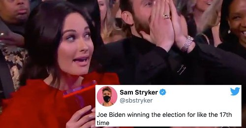 Joe Biden winning memes are celebrating the election results... again and again