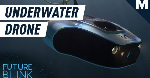 Meet the aquatic drone that can deep sea dive for underwater pictures