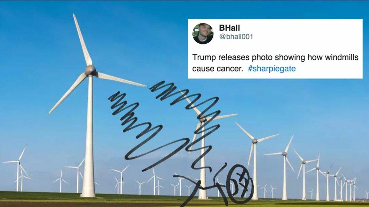 Twitter trolls Trump with #SharpieGate after edited Hurricane Dorian map