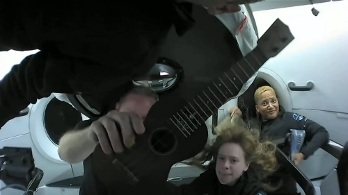 SpaceX civilian crew is having a blast in outer space, new video shows