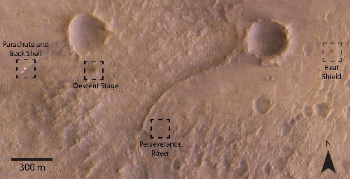 See Pic: NASA Perseverance Rover Spots Funny-Looking Rocks On The Red Planet!