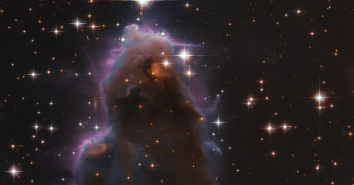 Haunting Hubble image depicts a region where new stars are born