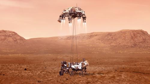 Perseverance has landed on Mars
