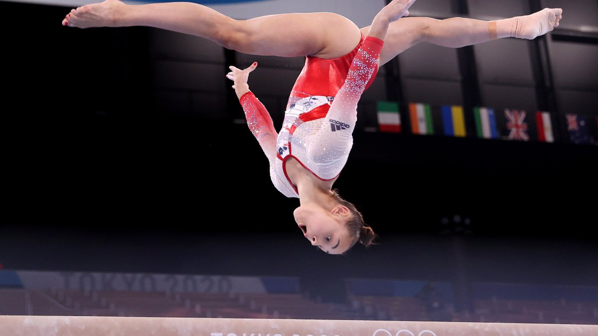 The 15 most gravity-defying gymnastics moments from the 2020 Tokyo Olympics