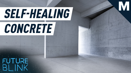 Self-healing concrete can fix itself in 24 hours — Future Blink