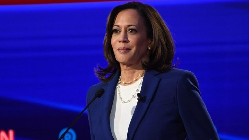 Kamala Harris predicted exactly why Twitter should suspend Trump two years ago