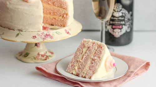 The Best Classic Pink Champagne Cake You'll Ever Eat
