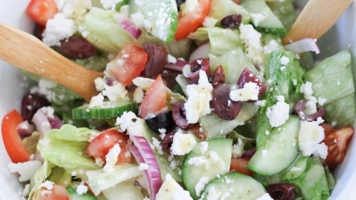 This Greek Salad Makes The Perfect Lunch