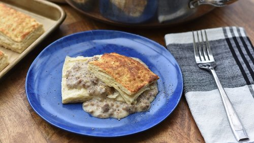 The Secret To The Best Biscuits And Gravy