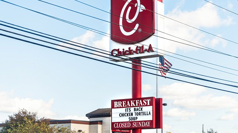 Read This Before Ordering Any More Of Chick-Fil-A's Soup