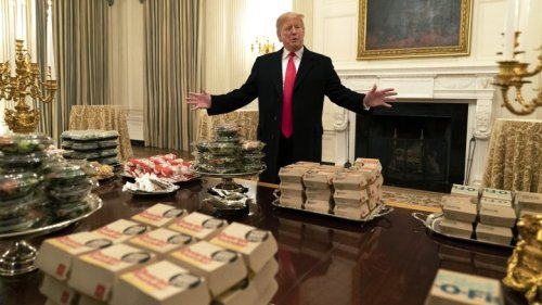 The Real Reason Trump Is So Obsessed With Fast Food