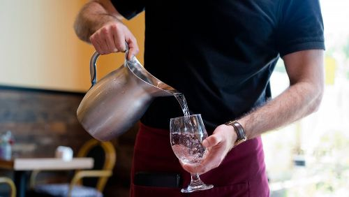 You Should Never Drink The Water At A Restaurant. Here's Why