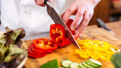 You've Been Cutting Bell Peppers Wrong Your Entire Life