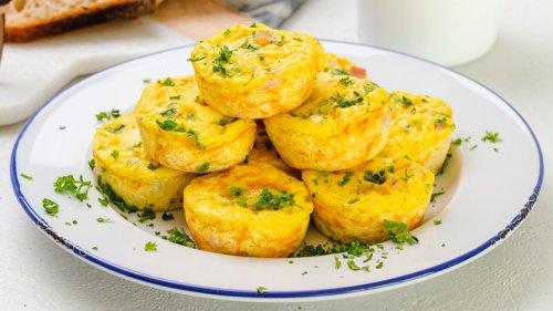 Crustless Ham And Cheese Quiche Muffins Recipe