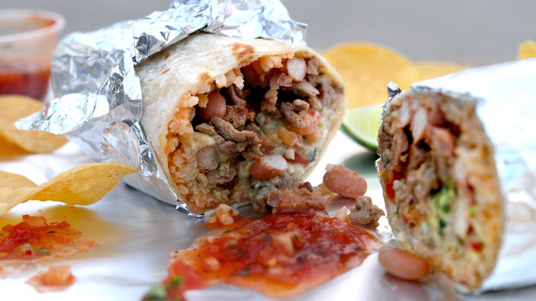 Popular Fast Food Burritos Ranked Worst To First