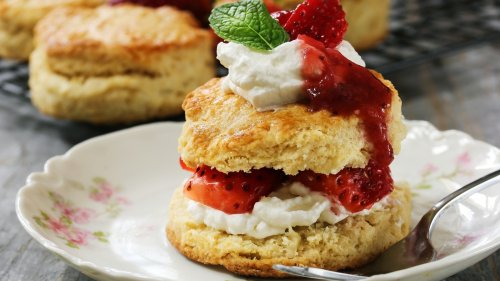 The Surprising Ingredient You Need To Try In Your Strawberry Shortcakes