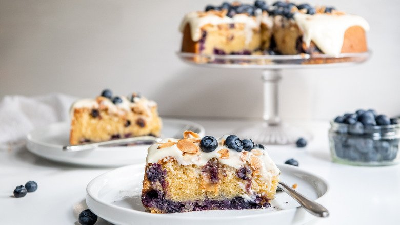 Blueberry Amaretto Cake Recipe Is One Of The Best Recipes You'll Ever Try