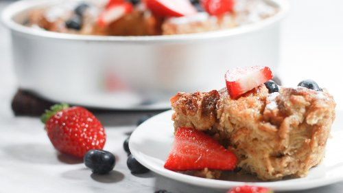 Easy Snickerdoodle French Toast Casserole The Whole Family Will Love