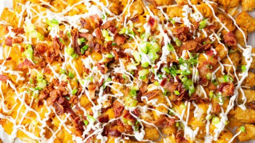 Loaded Baked Potato Totchos Recipe Is The Side Dish That'll Have You Begging For More