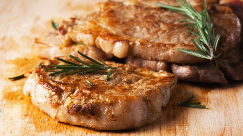 The Biggest Mistakes Everyone Makes When Cooking Pork