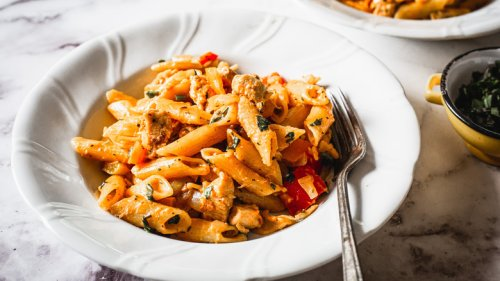 Mashed Recipe: Creamy Cajun Chicken Pasta Recipe
