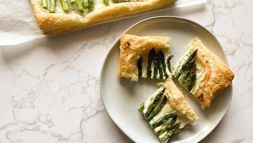 This Asparagus Tart Is Surprisingly Easy