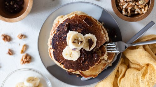Quick Banana Pancakes Are The Perfect Amount Of Sweetness