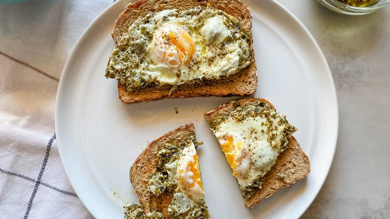 Pesto Eggs Recipe Are As Simple As They Are Tasty