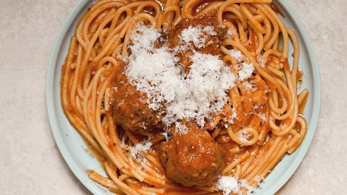 This Instant Pot Spaghetti And Meatballs Recipe Is Too Easy