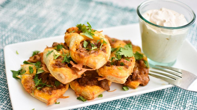 Cheesy Puffy Tacos Recipe Are A Twist On A Classic Dish