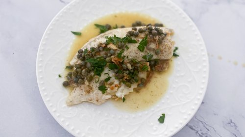 Giada's Chicken Piccata With A Twist