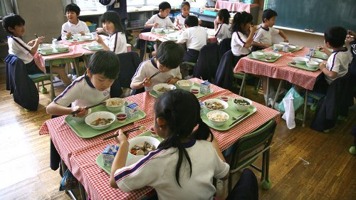 This Is What Japanese School Lunches Really Look Like