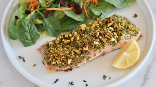 Pistachio-Crusted Salmon You'll Make Every Week