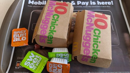 The Ridiculous Amount Of Money One McDonald's Chicken Nugget Sold For