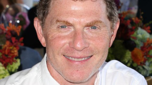 The Surprise Ingredient Bobby Flay Adds To Strawberry Milkshakes