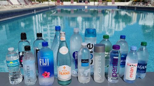 Bottled water brands, ranked worst to best