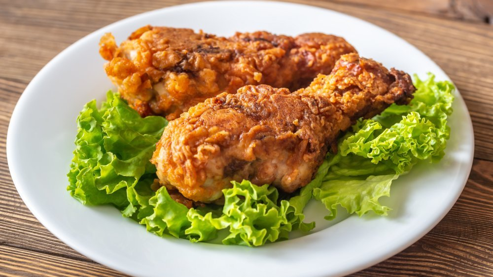 The Secret Ingredient You Should Be Using In Your Fried Chicken