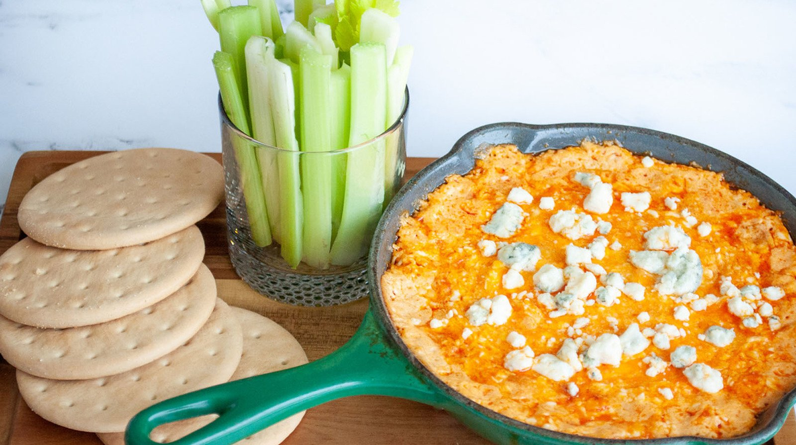 Easy Buffalo Chicken Dip You Need At Your Next Party